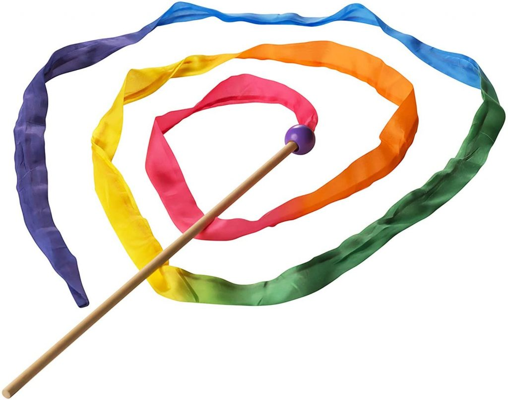Sarah's Silks - Rainbow Silk Streamer