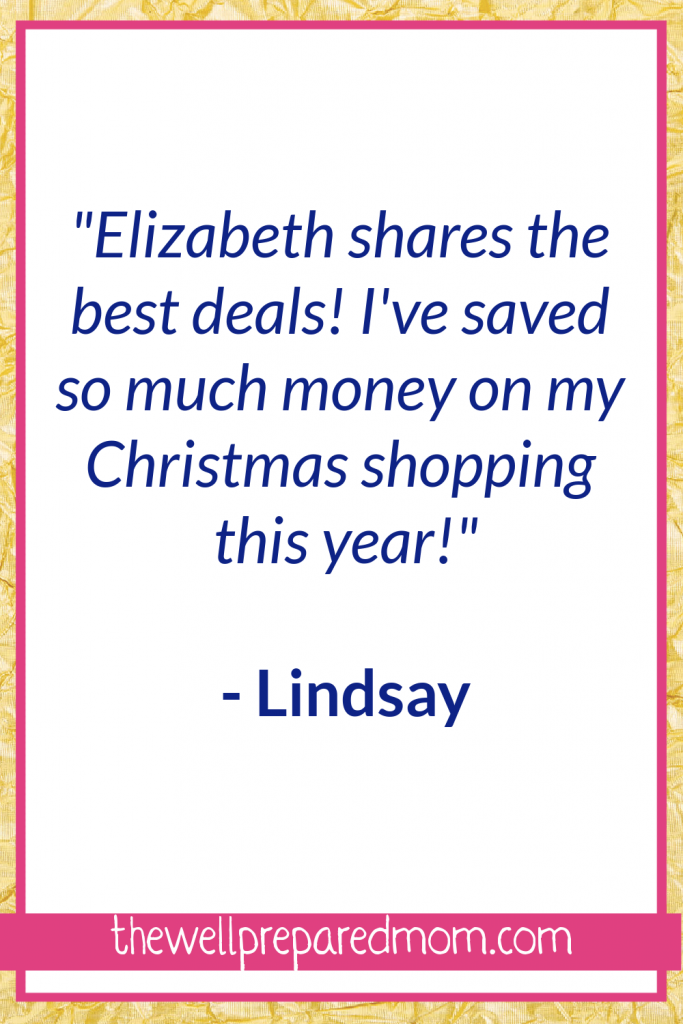 """How to Save Money By Joining this Facebook Group! Elizabeth Shares the best deals, I've saved so much money on my Christmas shopping this year!"""""""
