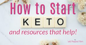 how to start keto and resources that help!